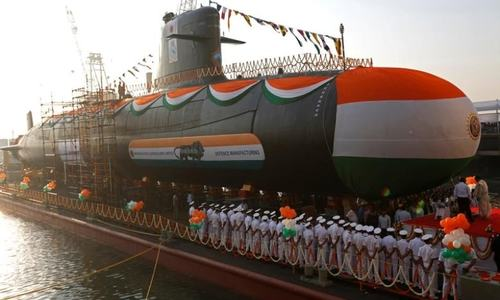 Pakistan Navy wards off Indian submarine from entering Pakistani waters: ISPR