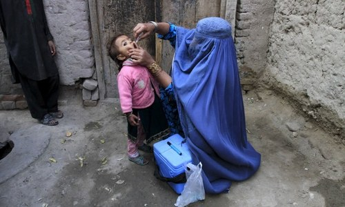افغانستان: طالبان پولیو ویکسین کی گھر گھر مہم چلانے پر متفق