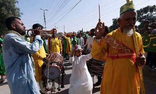تصاویر: عید میلادالنبی ﷺ مذہبی عقیدت کے ساتھ منائی گئی