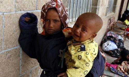 یمن جنگ میں 10 ہزار بچے جاں بحق یا زخمی ہوئے، یونیسیف