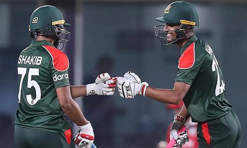 ٹی20 ورلڈ کپ میں بنگلہ دیش کی پہلی فتح، عمان ناکام