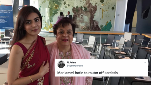 Twitter users wonder why Human Rights Minister Shireen Mazari, daughter Imaan don't use WhatsApp to talk