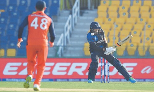 Wiese inspires Namibia to historic World Cup win