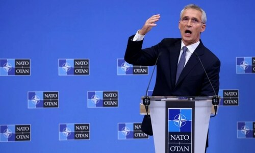 Nato agrees on plan to deter Russian threat amid China focus