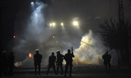 لاہور: ٹی ایل پی اور پولیس میں جھڑپیں، 3 اہلکار شہید، متعدد زخمی