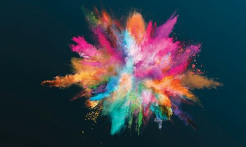 The crazy stories about colours