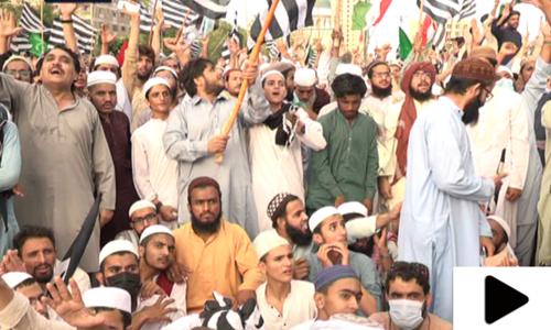غفورحیدری کا وفاقی حکومت کے خاتمے تک احتجاج جاری رکھنے کا اعلان