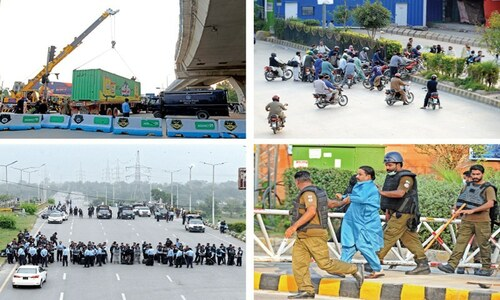 Paramilitary troops arrive to counter TLP's expected march on Islamabad