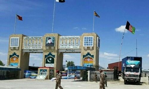 Chaman shut in protest against border closure