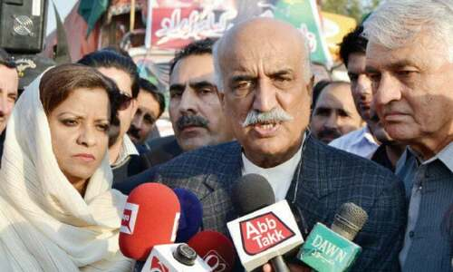 Khurshid Shah likely to be released today as Rs10m surety bond deposited