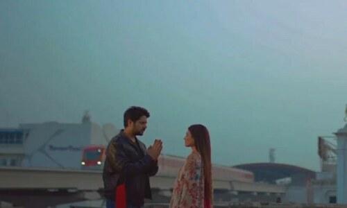 عمران اشرف کی میوزک ویڈیو 'تیرا دیوانہ' مداحوں میں مقبول