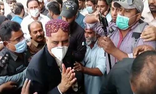 PPP's Khursheed Shah released from Sukkur jail