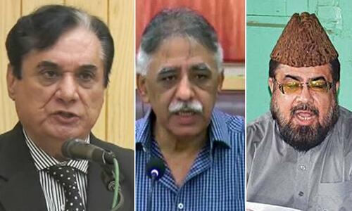 Karachi court summons FIA official on application against NAB chief, Mufti Qavi and Zubair