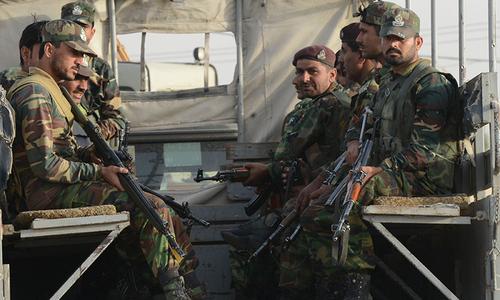 بلوچستان: ہرنائی میں دہشت گردوں کے ٹھکانے پر کارروائی، کمانڈر سمیت 6ہلاک