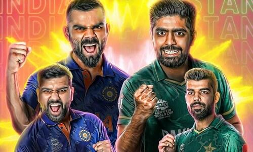 ٹی 20 ورلڈ کپ: روایتی حریف پاکستان اور بھارت کا ٹاکرا آج شام ہوگا