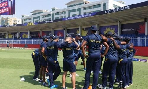 ورلڈ کپ ٹی 20: بنگلہ دیش اور سری لنکا کے درمیان میچ کا آغاز