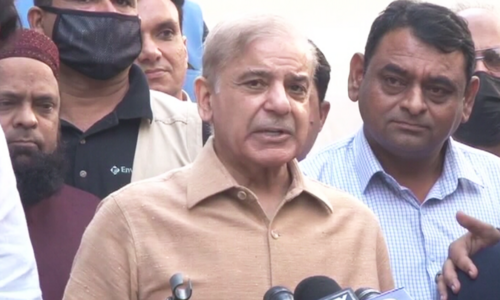 Sloganeering against heads of armed forces against national interest, shouldn't be allowed: Shehbaz