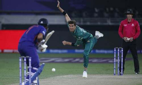 Shaheen wrecks Indian top order; both Sharma and Rahul gone