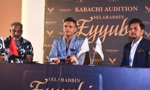 پاکستان اور ترکی کی صلاح الدین ایوبی پر مشترکہ سیریل کی تیاریاں شروع