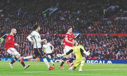 Salah treble as Liverpool humiliate United