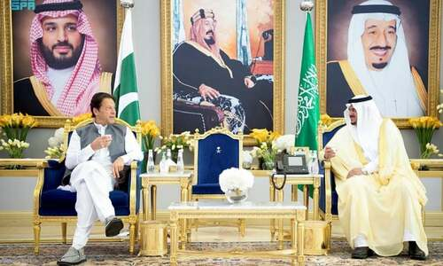 PM Imran arrives in Riyadh to attend Green Initiative Summit