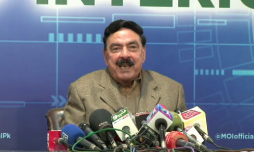 Govt will fulfil commitments made with TLP: Sheikh Rashid