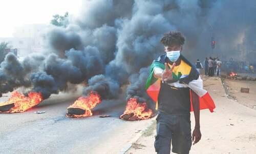 Sudan military dismisses govt after coup