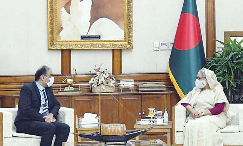 Hasina desires stronger trade ties between Bangladesh, Pakistan