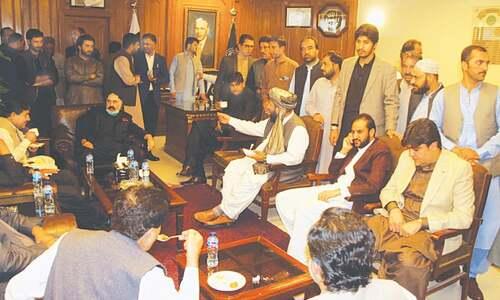 BAP nominates Qudoos Bizenjo as new leader of Balochistan Assembly