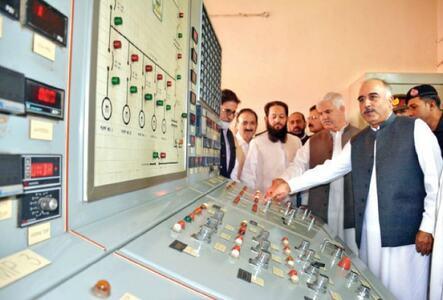 Upgraded Warsak pump house inaugurated