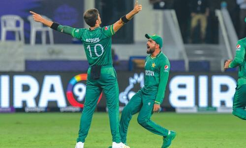 Proud to have made history against India, says Babar