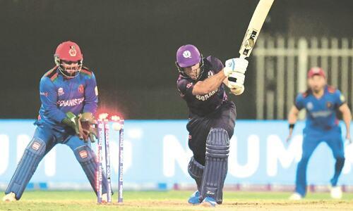 Mujeeb, Rashid spin Afghans to huge win over Scotland