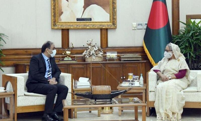 Sheikh Hasina desires stronger trade ties between Bangladesh, Pakistan