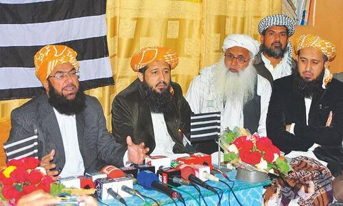 'Pindi' failed in Balochistan, claims JUI-F senator