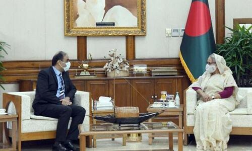 حسینہ واجد، پاکستان اور بنگلہ دیش کے مضبوط تجارتی تعلقات کی خواہاں