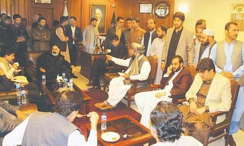 بی اے پی نے عبدالقدوس بزنجو کو بلوچستان کا نیا وزیر اعلیٰ نامزد کردیا