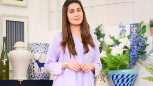 Shaista Lodhi is all set to become the new face of PTV's morning show