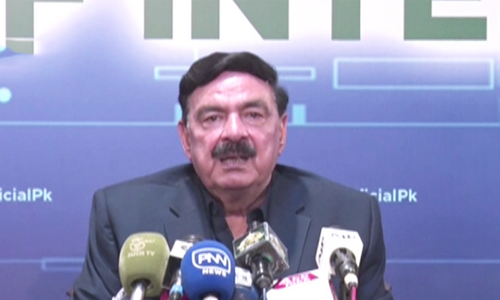 'No reservations' on any of TLP's demands except shutting down French embassy: Sheikh Rashid