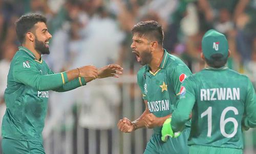 ٹی20 ورلڈ کپ: حارث اور آصف کی عمدہ کارکردگی، پاکستان نے نیوزی لینڈ کو شکست دے دی