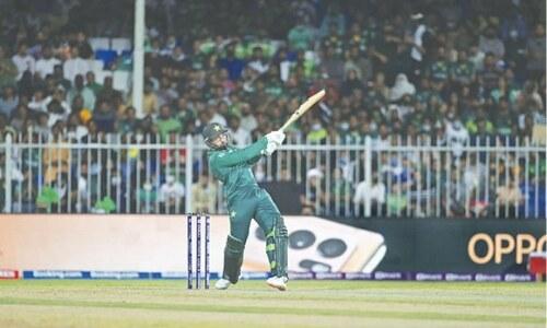 COMMENT: Disciplined aggression puts defiant Pakistan in sight of semi-finals
