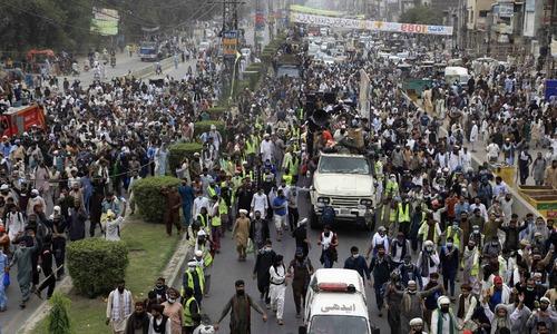 'Mishandling' of TLP rally riles Punjab IGP