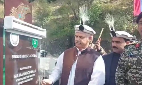 PTI to sweep next elections, claims CM Mahmood Khan