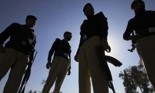لکی مروت میں پولیس وین پر حملہ، 4 پولیس اہلکار شہید