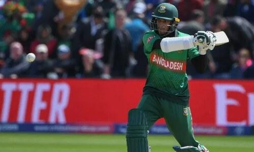 ٹی ٹوئنٹی ورلڈ کپ: بنگلہ دیش کے انگلینڈ کےخلاف 3 وکٹوں پر 60 رنز