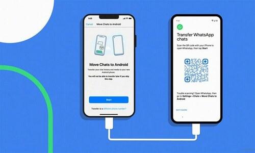 اب آئی فون سے واٹس ایپ ڈیٹا مخصوص ینڈرائیڈ فونز میں منتقل کرنا ممکن