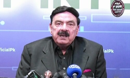 Rangers being called in Punjab for 60 days following clashes with TLP: Rashid
