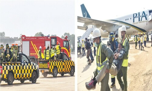 CAA holds mock drill at airport