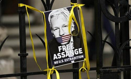 US dismisses Julian Assange suicide risk in extradition appeal