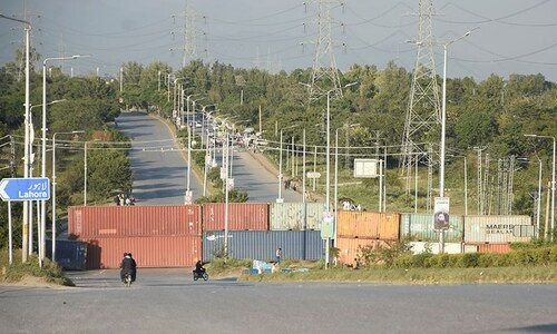 Rawalpindi sealed as TLP workers head for Islamabad