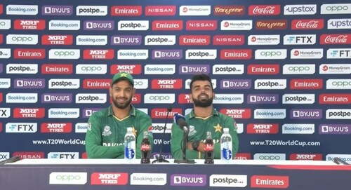 'Wins against India, New Zealand were much needed,' say Shadab, Haris